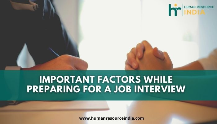 A job interview is the most crucial stage in the recruitment process and it would not be wrong to say that it is one of the major deciding factors