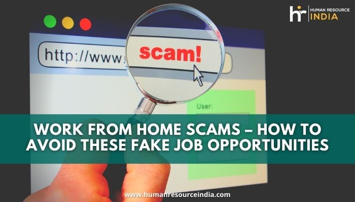 Ways to Save Yourself from Fake Online Work From Home Jobs Scams