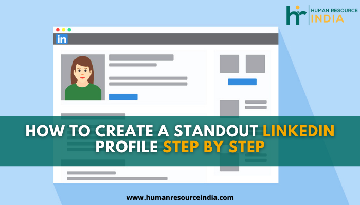 Create a LinkedIn profile and get noticed by recruiters because LinkedIn is the internet's largest professional network.